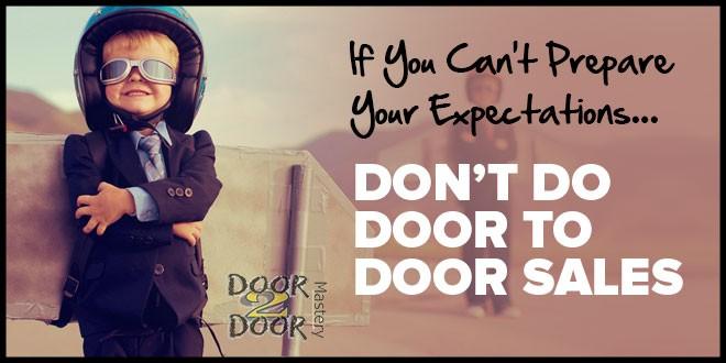 door to door sales