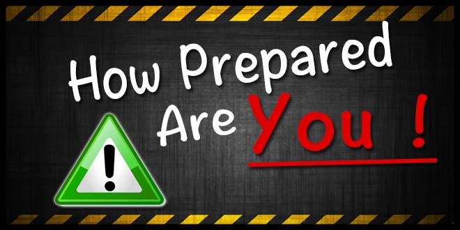 How prepared are you ? If you only knew - Tips, Tricks ...