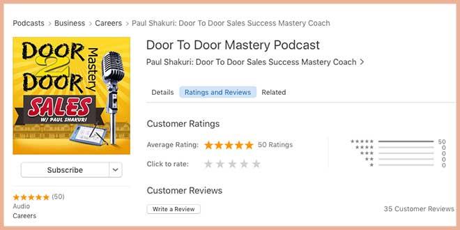 The life of a door to door salesman